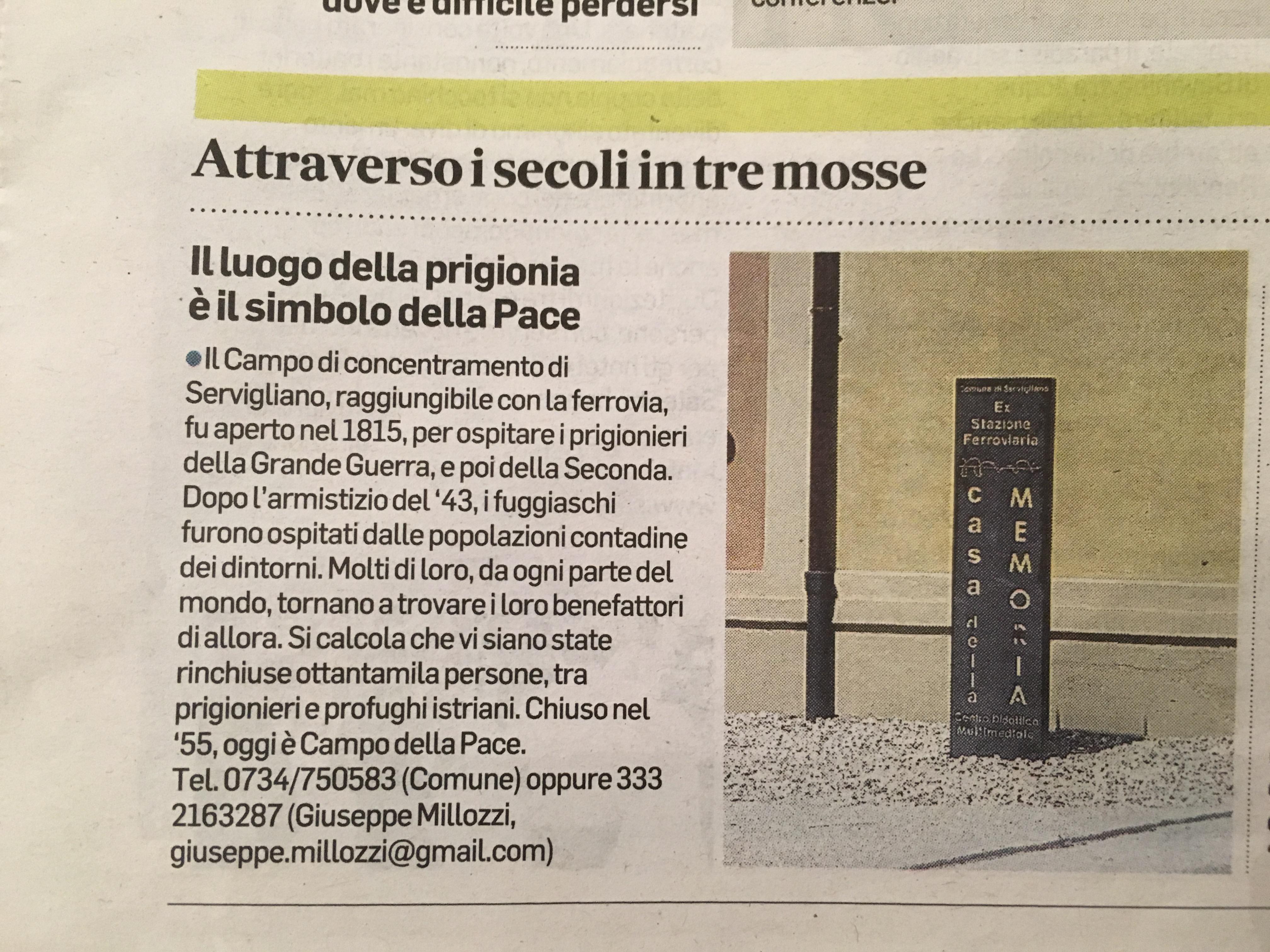 Rassegna Stampa 15/11/2017